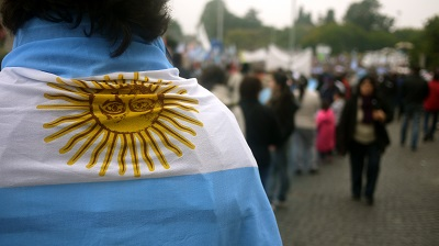 Wearing the Argentine Flag, Buenos Aires