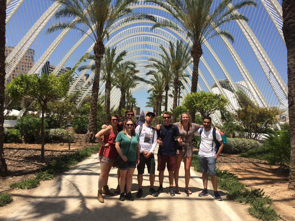 Group photo in Valencia