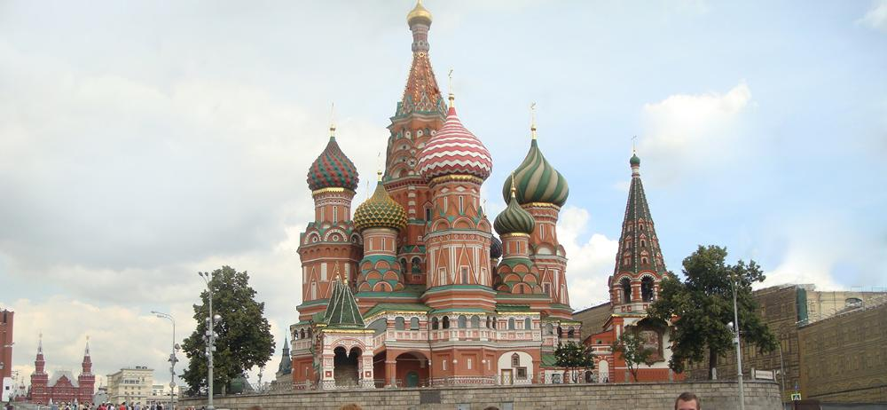 St. Basil's Cathedral in Russia by Artemi Romanov