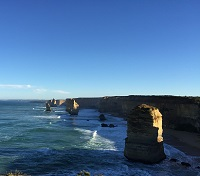 View of the 12 Apostles in Australia by Jamie Glass