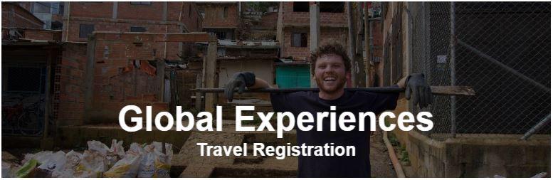 Global Experiences Travel Registration