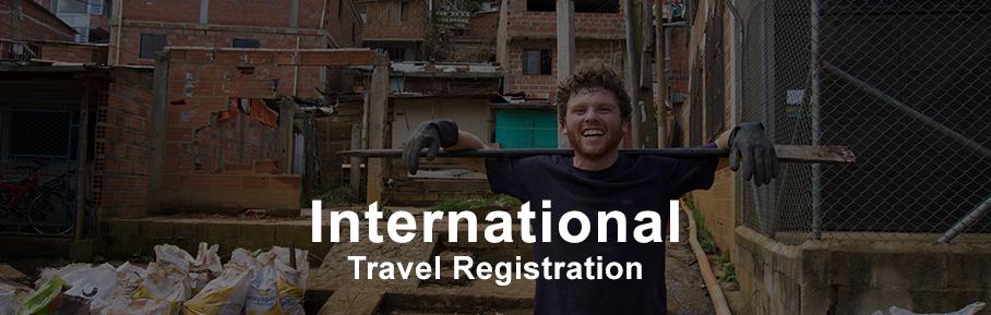 International Travel Registration