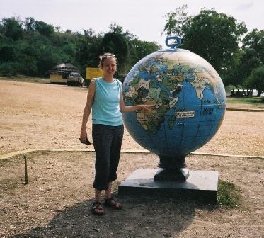 Liza at Big Globe by Liza Hensleigh