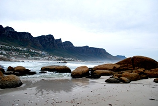 The Ocean Front of Cape Town by Matthew McAllister