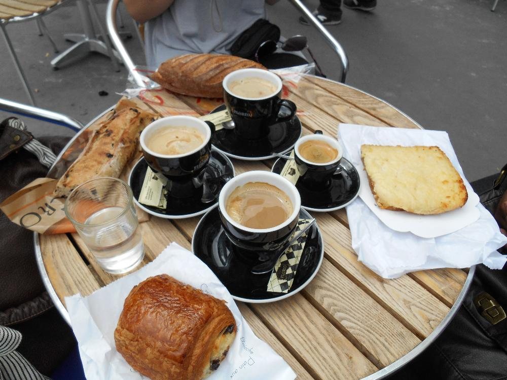 A Coffee in Bordeaux, France by Hillary Jensen