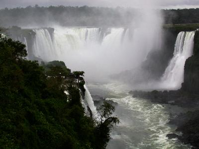 Iguazu Falls by Gwen Kittel