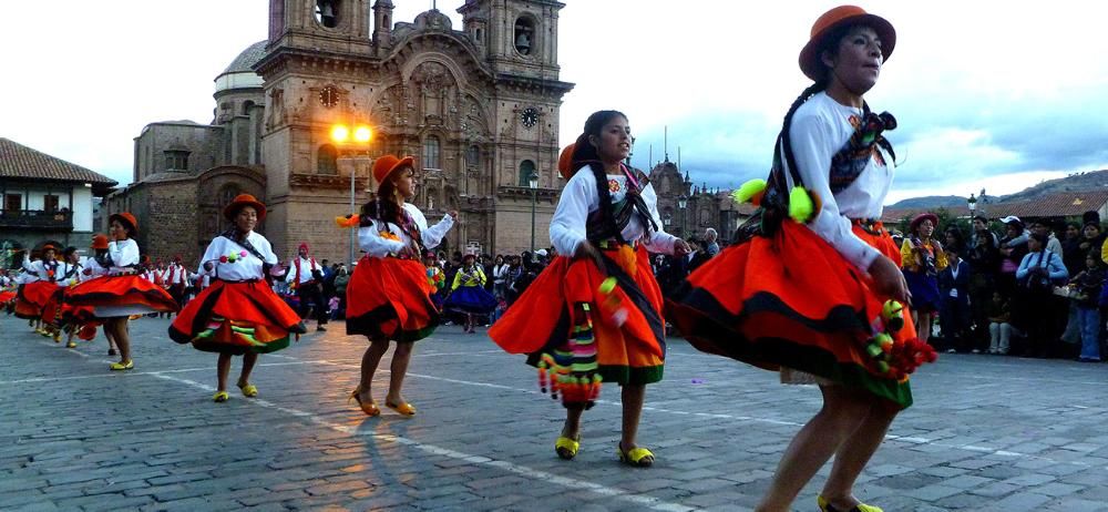 Celebration in Cusco, Peru by Katrina Riley
